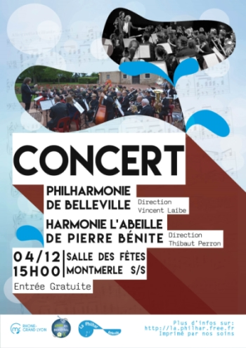 Affiche concert Montmerle 2016