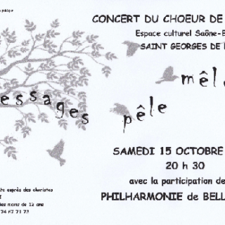 Affiche Concert St Georges 2016