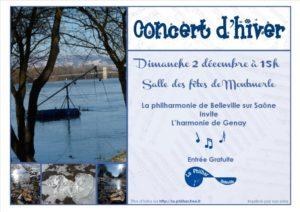 Affiche concert Montmerle