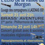 Affiche concert 90 ans vallée du morgon